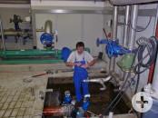 Umbau Rohrleitung Hebeanlage